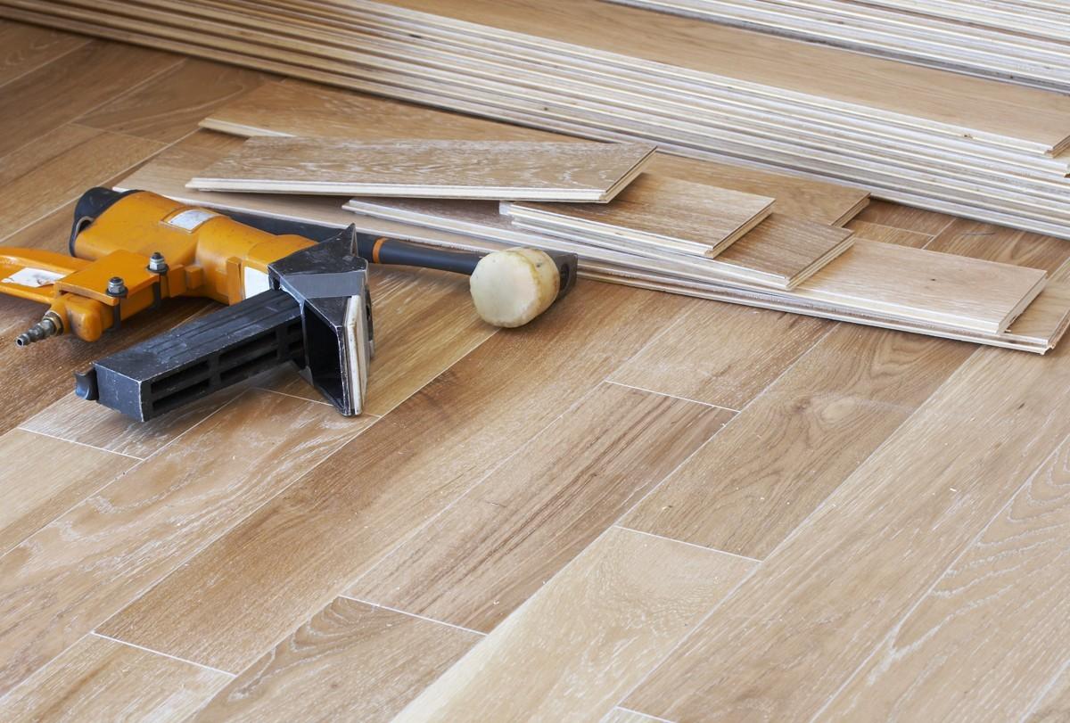 hardwood installation | Carefree Carpets & Floors