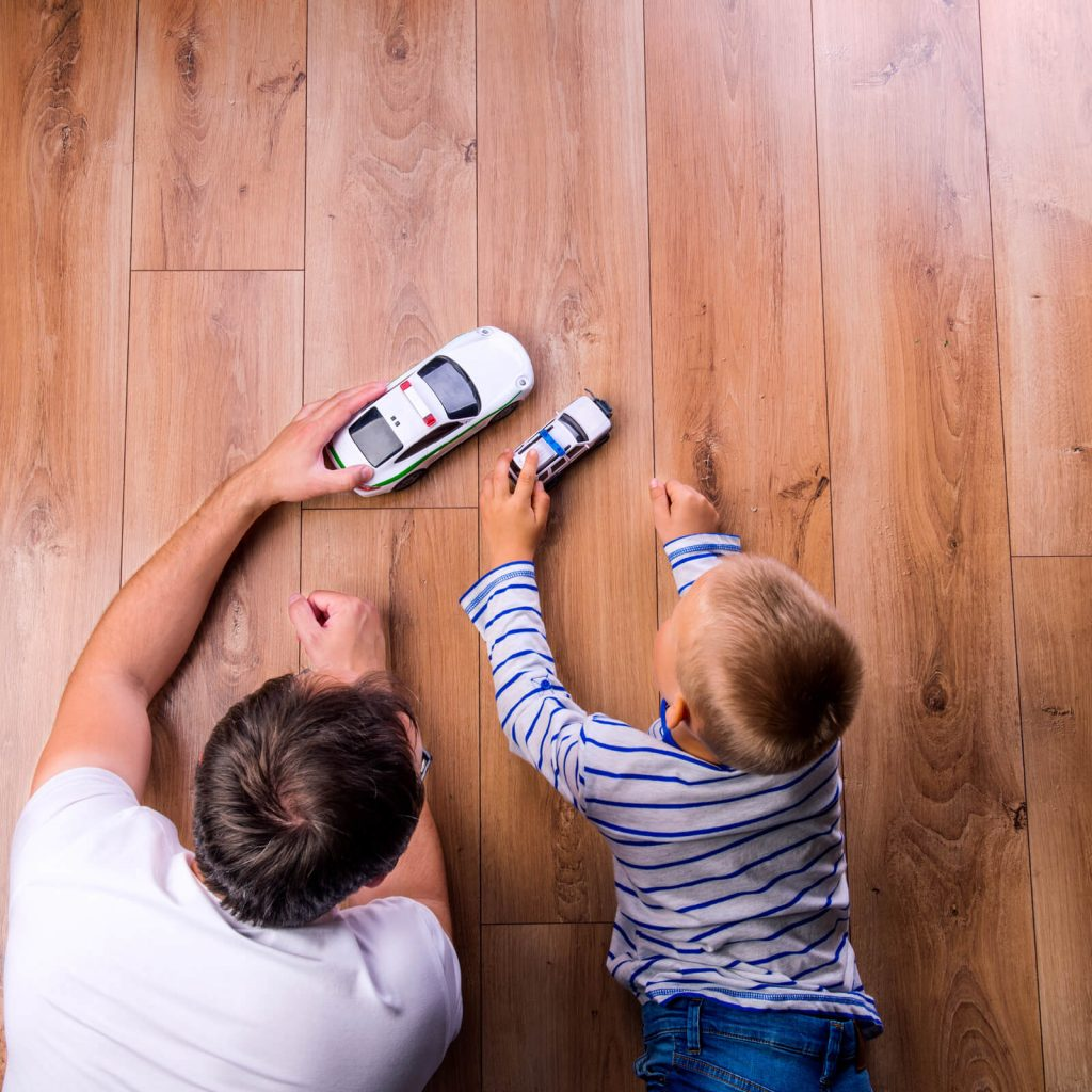 Best Types of Hardwood Flooring for Families | Carefree Carpets & Floors