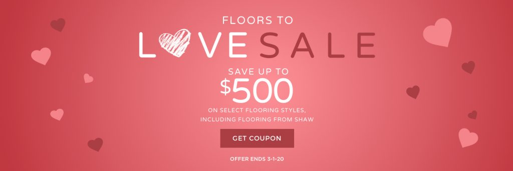 Floors to Love Sale | Carefree Carpets & Floors