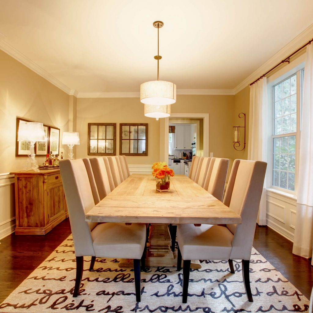 Choose rug for dining room | Carefree Carpets & Floors